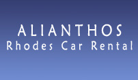 Alianthos offers high quality rent a car services in Rhodes